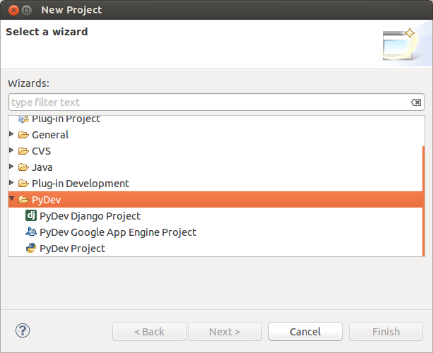 New Project Python