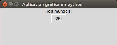 Ejemplo 1 de Python y Tkinter