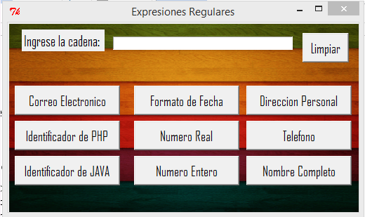 Expresiones regulares en Tkinter