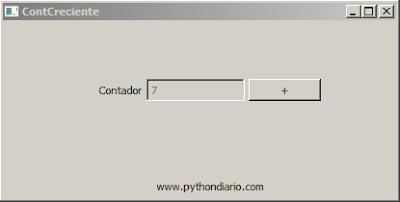 Contador Creciente en Python