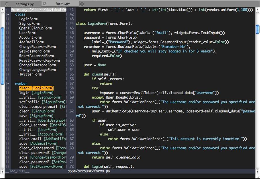 IDE Vim para Python