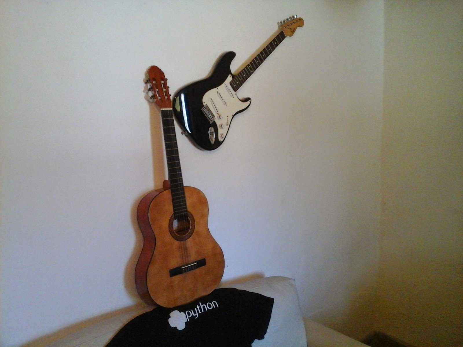 Afinador de guitarra en python