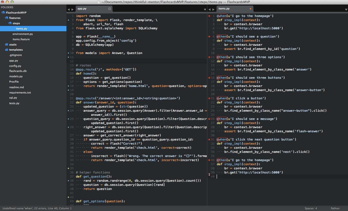 Sublime Text 3 IDE Python