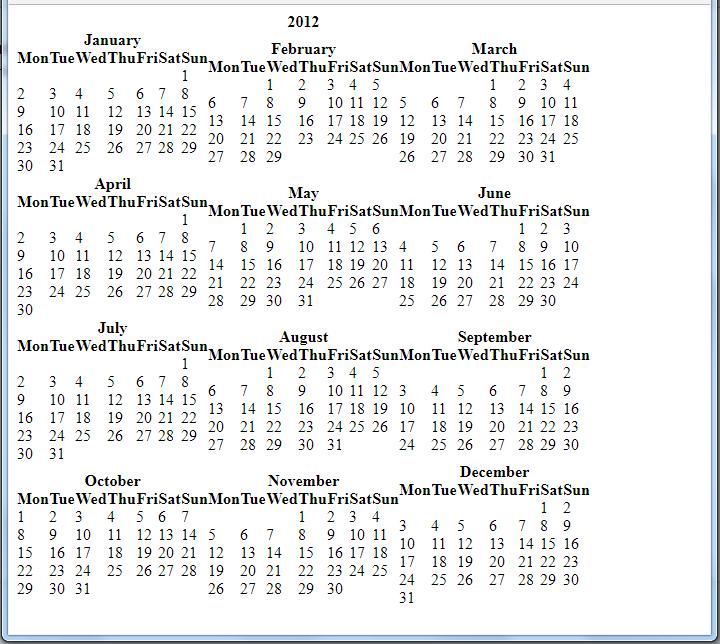 Gestión de Calendarios en Python