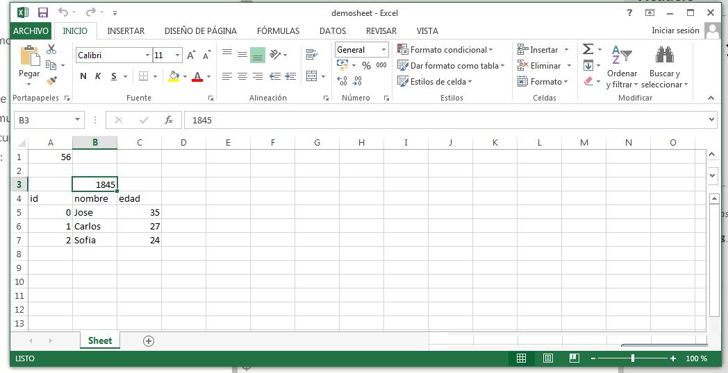 Excel 3 - openpyxl