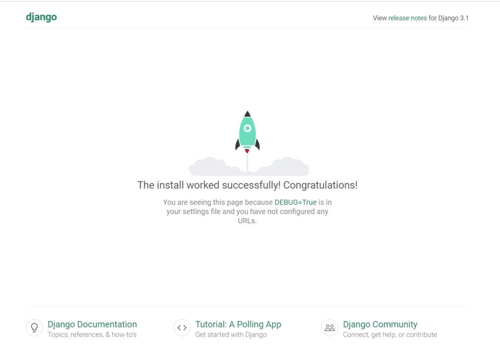 Instalar y configurar Django en Clouding - Proyecto en localhost